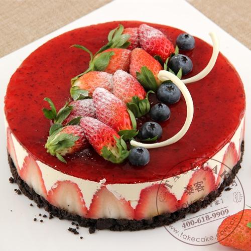 爱上·草莓慕斯