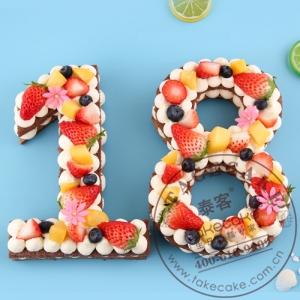 数字祼蛋糕