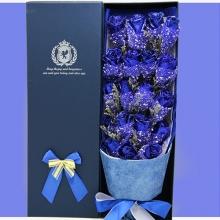 蓝色妖姬礼盒