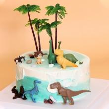 恐龙乐园(半DIY情景蛋糕)