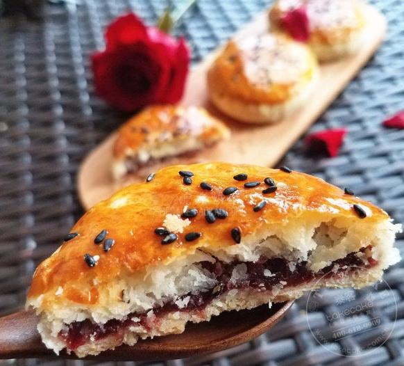 玫瑰鲜花饼【5枚装】