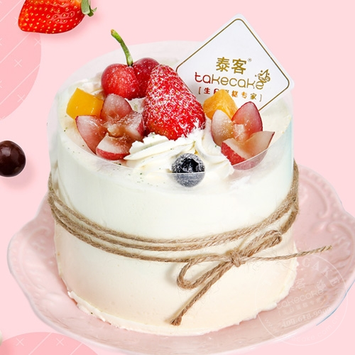 黄桃酸奶芝士【4英寸蛋糕 直径10cm】