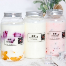原味手工酸奶(450ml大容量)