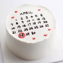 芋泥手绘蛋糕