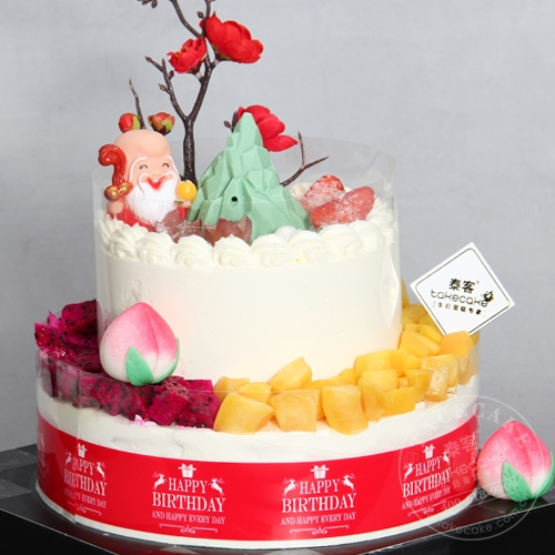 高山流水【干冰烟雾蛋糕】