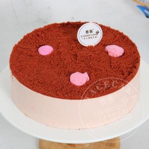 草莓丝绒冰激凌