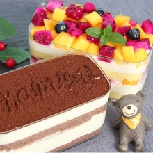 提拉米苏盒子蛋糕(份量足)