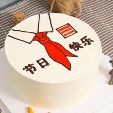 红领巾【手绘蛋糕】